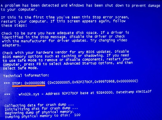 STOP errors - 2.1 - BSoD - Error Code - WindowsWally