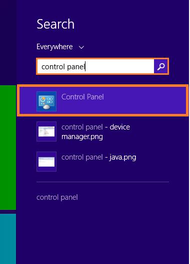 Windows 8 Shut Down -- metro - control panel - Windows Wally