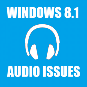 no audio windows 8.1