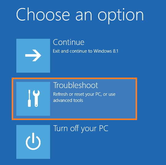 Safe Mode - Choose an option -- Windows Wally