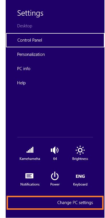 Stop Error 0x000000C2 - Change PC Settings -- Windows Wally