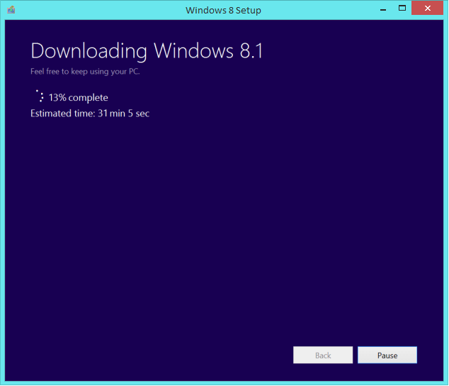 Windows 8.1 Upgrade - Downloading Windows 8.1 ISO 5 -- Windows Wally