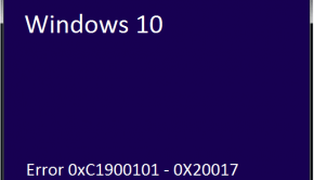 0xC1900101 - Featured -- Windows Wally