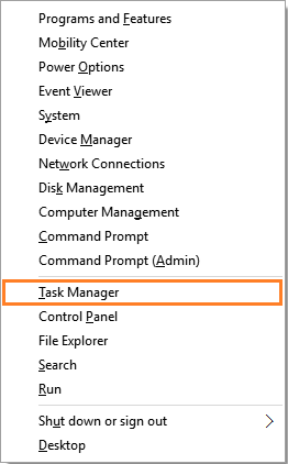 Too long to boot - WindowsKey+X - Windows 10 - Task Manager - Windows Wally