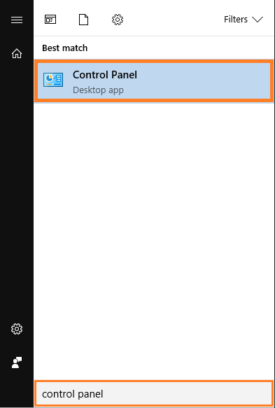 Windows 10 -- Control Panel - Windows Wally