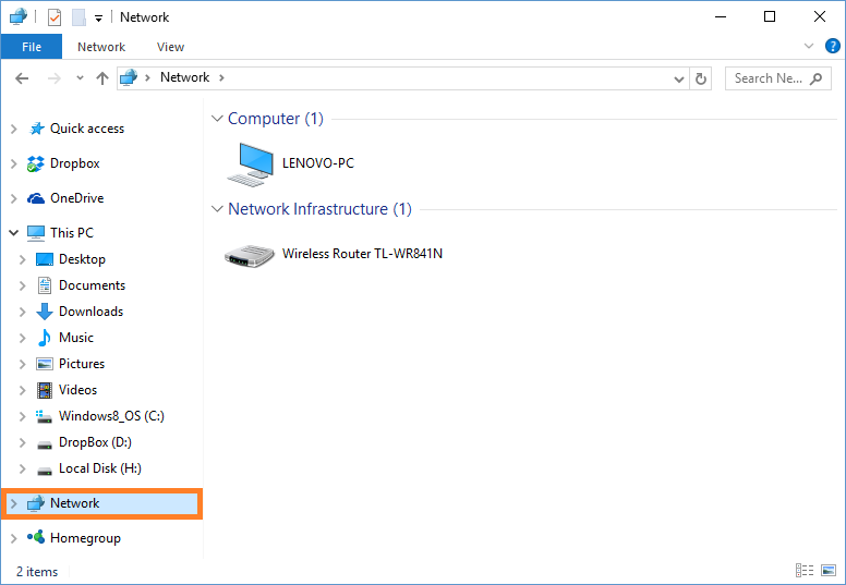 Windows 10 - Sharing files between Windows 7 and 10 - Network Folder - Windows Wally