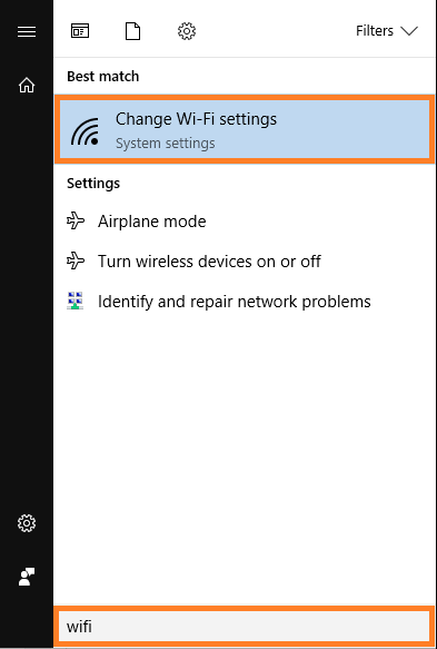 Windows 10 - WiFi - Change Wifi settings - v2 - Windows Wally