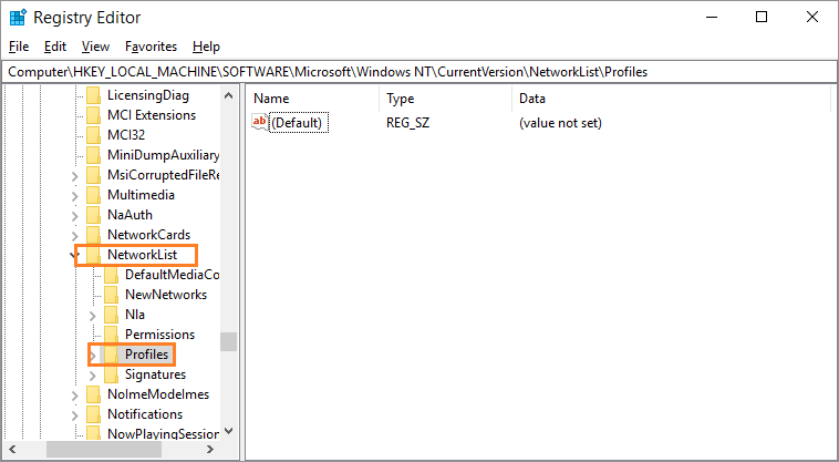 Windows 10 -- The Server Stumbled - 0x80072EFD - regedit - 3 - Windows Wally