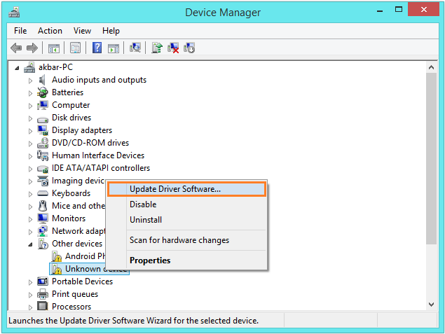 Lagging In Windows 8.1 - Device Manager - Update Driver Software... -- Windows Wally